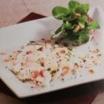 Nüsslisalat mit Champignon-Carpaccio